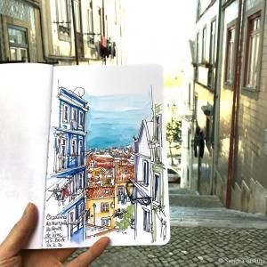 In den Straßen Lissabons